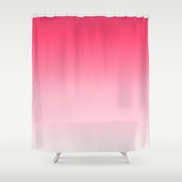 Cranberry Ombre Shower Curtain