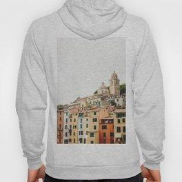 Photo of Portovenere, Cinque Terre Italy | Fine Art Colorful Travel Photography | Hoody