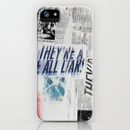 LIARS iPhone Case