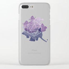 Hexagon - Geometric Design Clear iPhone Case