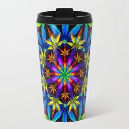 Stoners' Mandala 2 Travel Mug