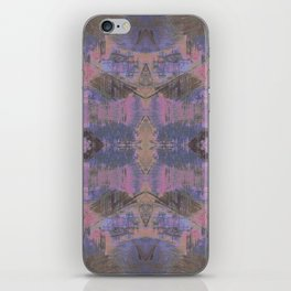 Abstract mosaic panel iPhone Skin