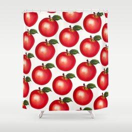 Apple Pattern Shower Curtain