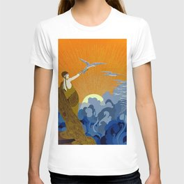 """""""Wings of Victory"""" Art Deco Design T-shirt"""