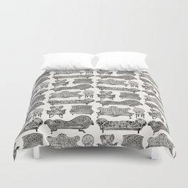 Victorian Lounge – Black Palette Duvet Cover