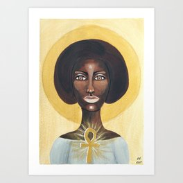 Goddess no 9 Art Print