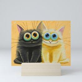 two friends Mini Art Print