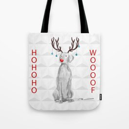 HOHOHOWOOOF WEIMARANER Tote Bag