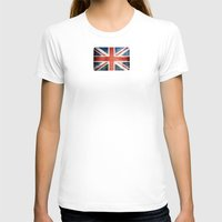 union jack T-shirts featuring Great Britain, Union Jack by Arken25