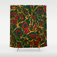 rasta Shower Curtains featuring Rasta Time... by Cherie DeBevoise