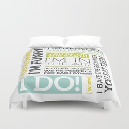 I Do Duvet Cover