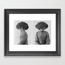 Soldier Broccoli. 1901. Framed Art Print