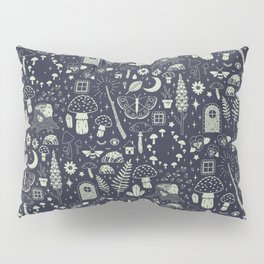 Fairy Garden: Midnight Pillow Sham