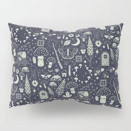 Fairy Garden: Midnight Pillow Sham