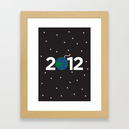 2012 Framed Art Print