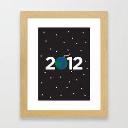 2012 Framed Art Print