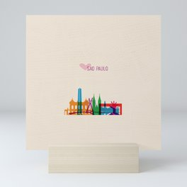 Love Sao Paulo Brazil Mini Art Print