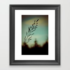 Simple. Framed Art Print