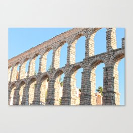 Acueducto Canvas Print