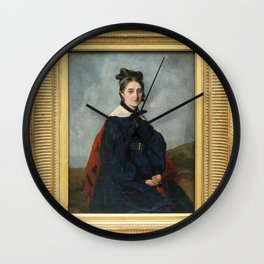 Jean-Baptiste-Camille Corot - Alexina Ledoux Wall Clock