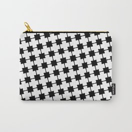 Geometric Squares Carry-All Pouch