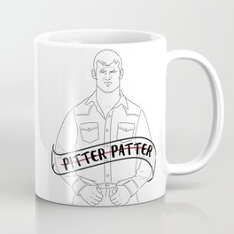 Pitter Patter Let's Get at 'er Coffee Mug