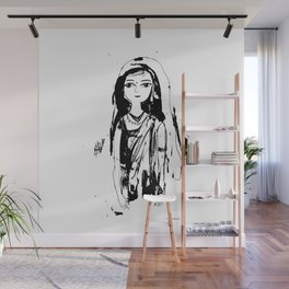Indian girl Wall Mural