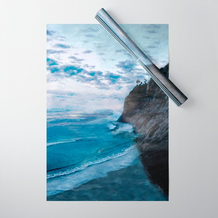 Coast 9 Wrapping Paper