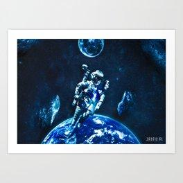 Poster - Spaceman Art Print