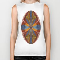 marble Biker Tanks featuring Marble by Lady Tanya bleudragon