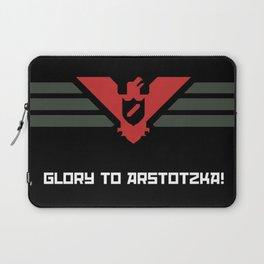Glory to Arstotzka! Laptop Sleeve
