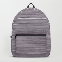 Summer Beach House Whitewashed Purple Pastel Decking Backpack
