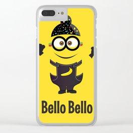 Bello Singh Punjabi (Balle Balle) Minion Inspired Parody Clear iPhone Case