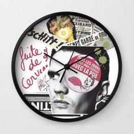 Fuite de cerveau Wall Clock