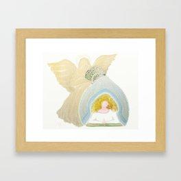 My Guardian Angel Framed Art Print