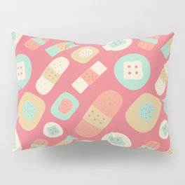 Cute patches pattern Pillow Sham