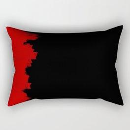 Red Impact Rectangular Pillow