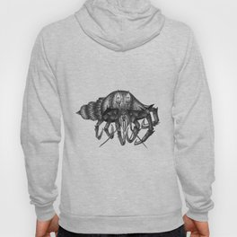 Steampunk angry crab Hoody