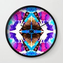 Cosmic Star-Stuff Wall Clock