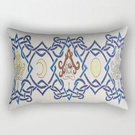 Three Women Celtic Band Rectangular Pillow