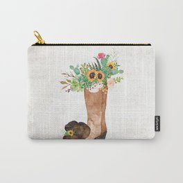 Southwestern Sunflower Carry-All Pouch