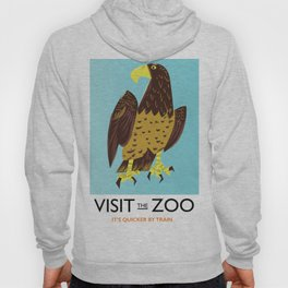 visit the Zoo Golden eagle Hoody