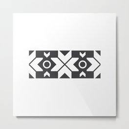 Faroe Islands Pattern Metal Print