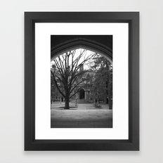 Princeton Framed Art Print
