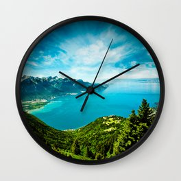 Lake Geneva Wall Clock