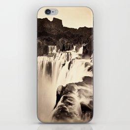 Vintage Waterfall iPhone Skin