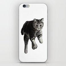 Jumping Cat iPhone & iPod Skin