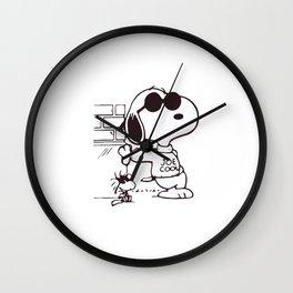 Joe Cool Wall Clock