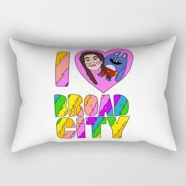 I Heart Broad City Rectangular Pillow
