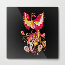 Firebird - Fantasy Creature Metal Print